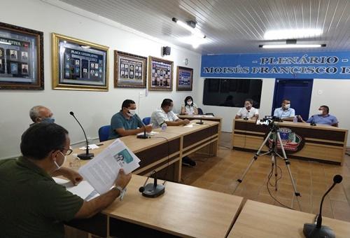 16ª Sessão Ordinária do 1º Período da CMAG (28/05/2020)